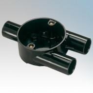 Branch Y Boxes (3 Way) For Round PVC Conduit