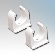 Spring Clip Saddles For Round PVC Conduit