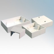 Switch & Socket Boxes For PVC Mini Trunking