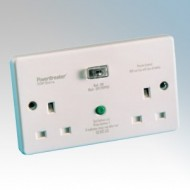 White Moulded RCD Accessories