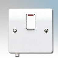White Moulded DP Switches