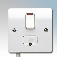 White Moulded Connection Units