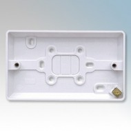 White Moulded Mounting Boxes