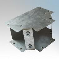 Galvanised Steel Trunking 90° Inside Lid Equal Tees IP4X - New Range