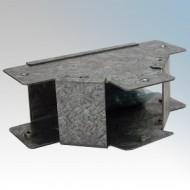 Galvanised Steel Trunking 90° Outside Lid Equal Tees IP4X - New Range