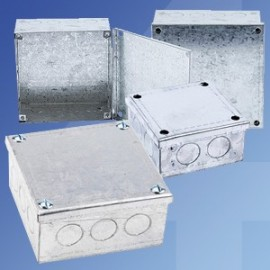 Galvanised Adaptable Boxes