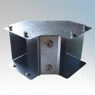 Galvanised Steel Trunking 90° Inside Lid Bends IP4X - New Range
