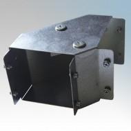 Galvanised Steel Trunking 90° Top Lid Bends IP4X - New Range