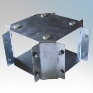 Galvanised Steel Trunking Crossovers IP4X - New Range