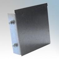 Galvanised Steel Trunking Stop Ends IP4X - New Range