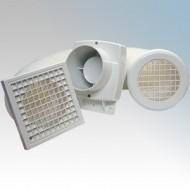 Budget Mains In-Line Shower Fan Kit 100mm - Huge Savings