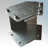 Galvanised Steel Trunking 45° Inside Lid Bends IP4X - New Range