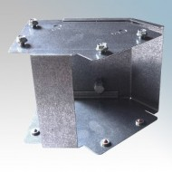 Galvanised Steel Trunking 45° Outside Lid Bends IP4X - New Range