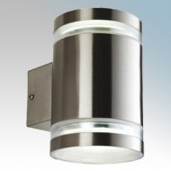 Firstlight Atlas Stainless Steel Tubular Wall Lights IP44