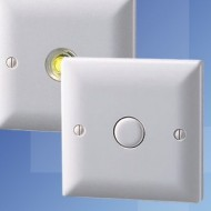 Danlers White Moulded Time Lag Switches