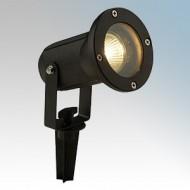 Saxby Lighting Opaz Matt Black Spike Spotlight