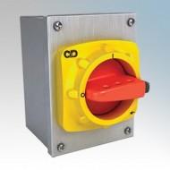 Craig & Derricott Stainless Steel Rotary Isolators