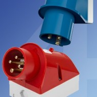 Mennekes IP44 Industrial Surface Mounting Appliance Inlets