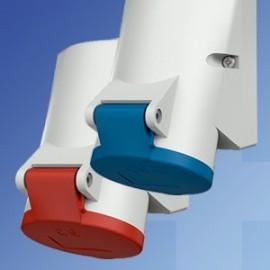 Mennekes IP44 Industrial Surface Mounting Sockets