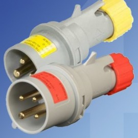 Lewden IP44 Multimax Industrial Plugs