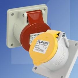 Mennekes IP44 Industrial Panel Mounting Sockets
