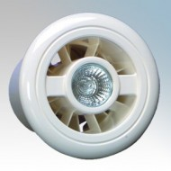 Vent-Axia LuminAir Low Voltage Shower Fan Light Kit 4 Inch/100mm