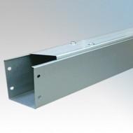 100mm x 100mm IP4X Galvanised Steel Trunking - New Range