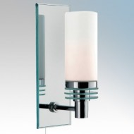 Searchlight 5611-1CC + 5612-2CC Bathroom Wall Lights
