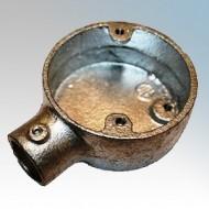 Conlok Quick Fit Galvanised Steel Conduit Boxes