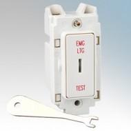 Crabtree Rockergrid 20A Key Switch Modules