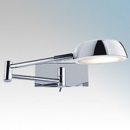 Searchlight 3863CC Chrome Adjustable Wall Light