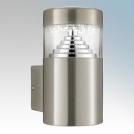 Searchlight 7508 Stainless Steel LED Outdoor Wall Light IP44
