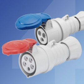Gewiss IEC309 Industrial Connectors - Screw Terminals IP44