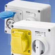 Gewiss IB Series Horizontal Interlocked Switch Sockets IP44