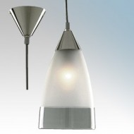 Searchlight Admiral Satin Silver Ceiling Pendant Light
