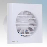 Deta Mains Voltage Axial Fans 4 Inch/100mm