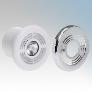 Deta Low Voltage Shower Fan Light Kit 4 Inch/100mm