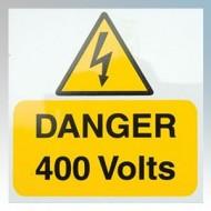 Industrial Signs - DANGER 400V