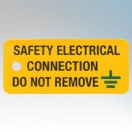 Industrial Signs - SAFETY ELECTRICAL CONNECTION