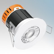 Enlite E5 Integrated Dimmable Fire Rated LED Downlights IP65