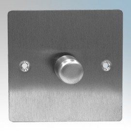 Zano Controls Stainless Steel Plate Mounted LED Dimmers