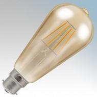 Crompton Lamps Antique Bronze LED Filament Lamps