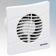 Vent-Axia Basics Slim Line Mains Axial Fans 4 Inch / 100mm