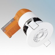 Enlite E6 PRO Dimmable Fire Rated LED Downlights IP65