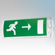 JCC Lighting LED Emergency Exit Bulkhead