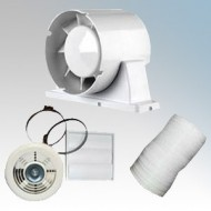 Airflow Aura In-Line Timer Shower Fan Light Kit
