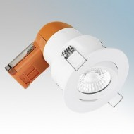 Enlite E6 PRO Adjustable Fire Rated LED Downlights IP20