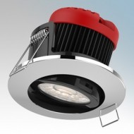 Brite Source All-In-One Adjustable LED Fire Rated Downlight Kit