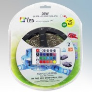 ALL LED Colour Changing RGB LED Strip Light Pack