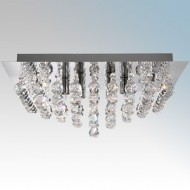 Searchlight Crystal Decorative Ceiling Lights